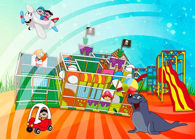 GreenIsland   Il parco giochi per bambini a Roma più divertente