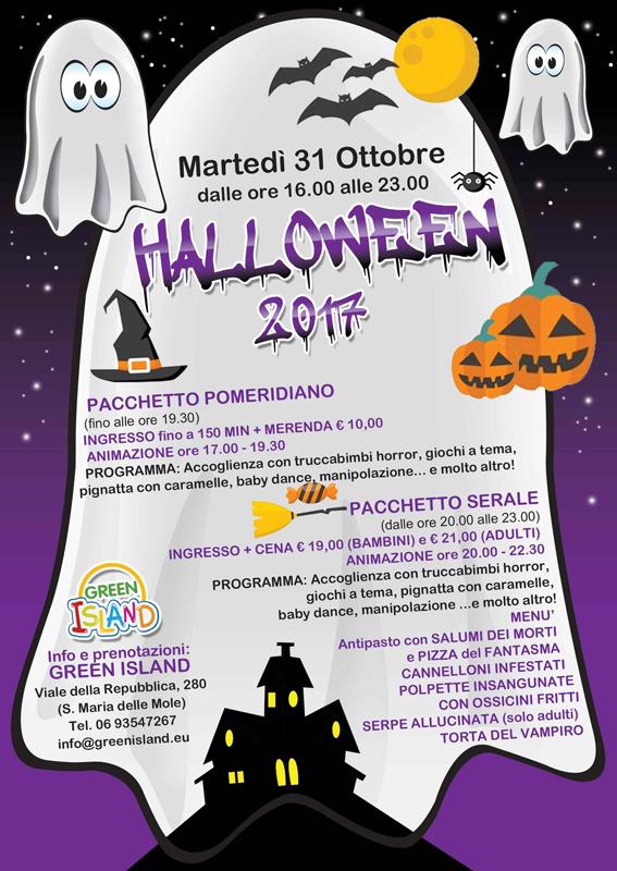 Festa Di Halloween A Roma.Greenisland Halloween 31 Ottobre 2017